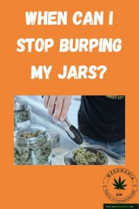 When Can I Stop Burping My Jars?