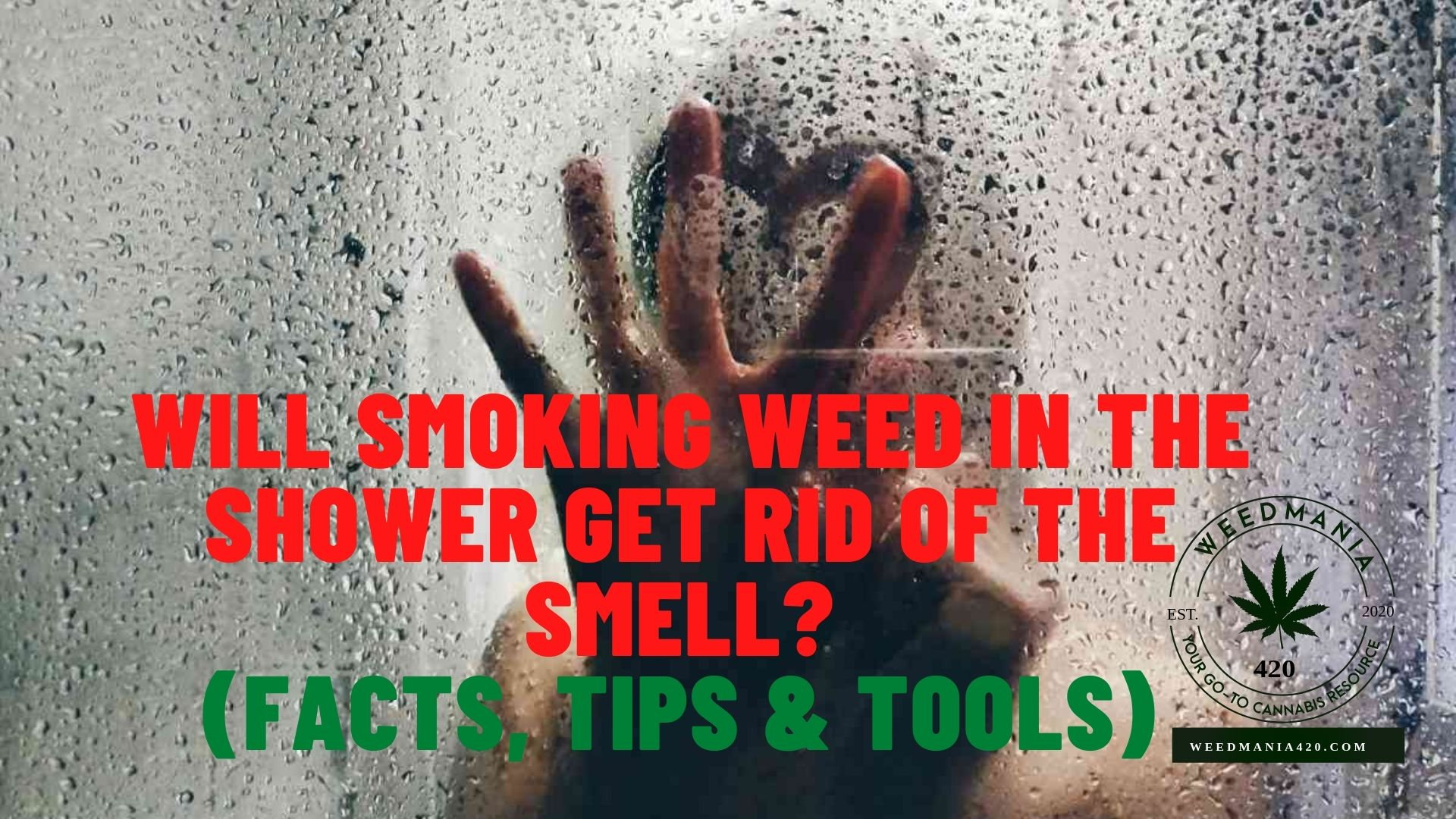 Will Smoking Weed In The Shower Get Rid Of The Smell?
